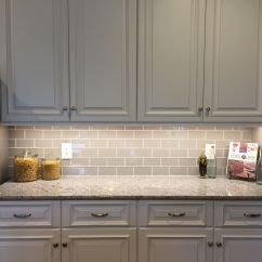 Kitchen Backsplash Glass Tiles Appliances Bundles Smoke Subway Tile