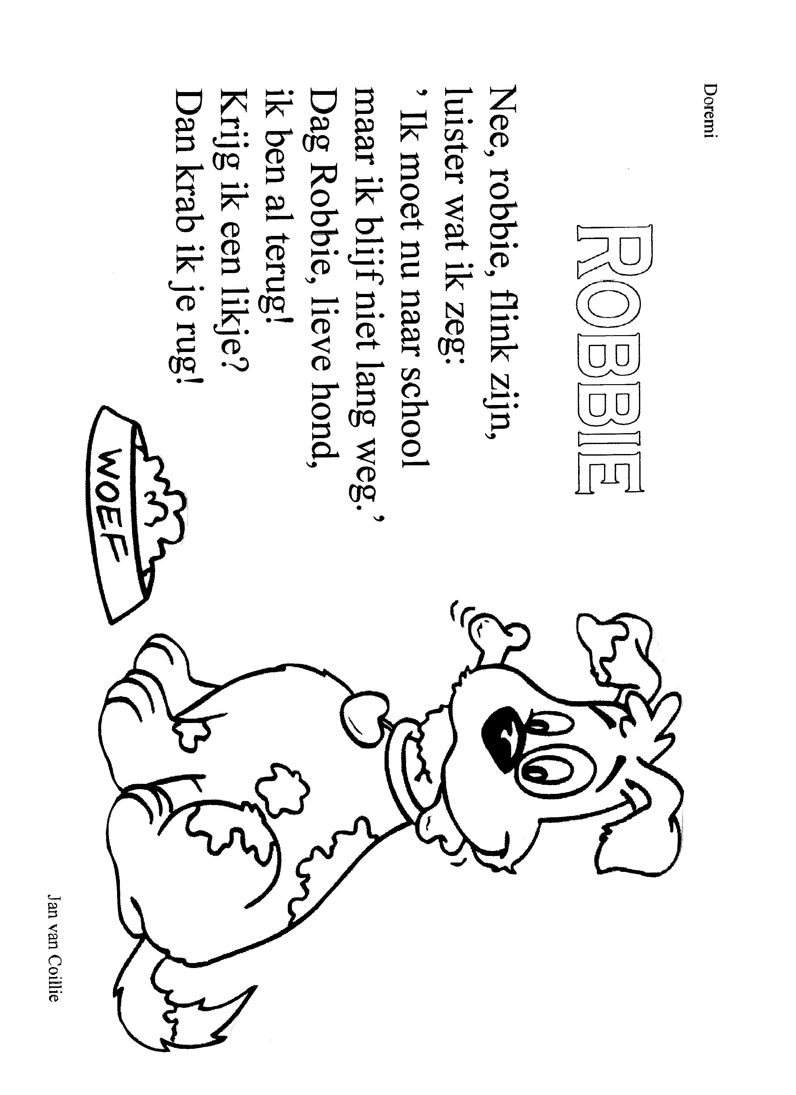 Versje Robbie De Hond
