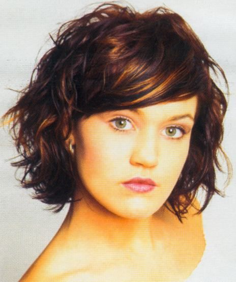40 Different Versions of Curly Bob Hairstyle  Short wavy hairstyles and Short wavy