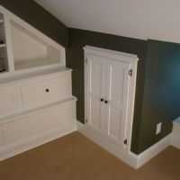 Dress up attic access door