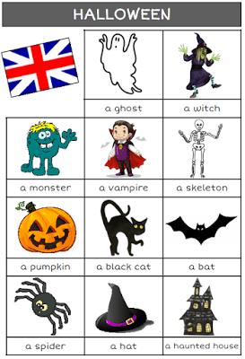 Anglais  Halloween  Cm1 Cm2, Ce1 Ce2 Et Cm1