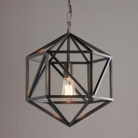 Prism Cage Pendant Light | Pendant lighting, Open concept ...
