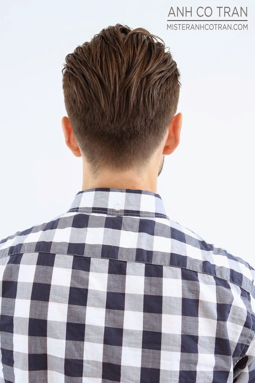 Men Cuts Traditional Undercut Backside Hairstyle Pinterest