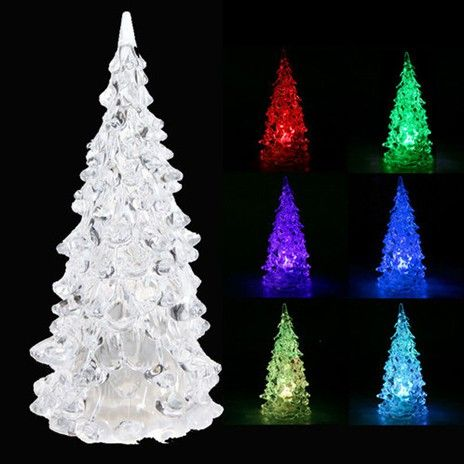 led miniature christmas tree color changing decoration now 58