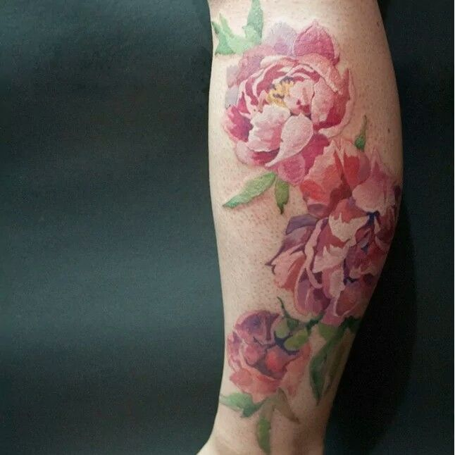 Gorgeous Vintage Flower Tattoo  Ink For Friends