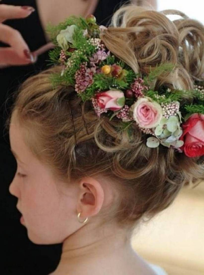 Flower Girls Hairstyles For Toddlers Hairstylee Com