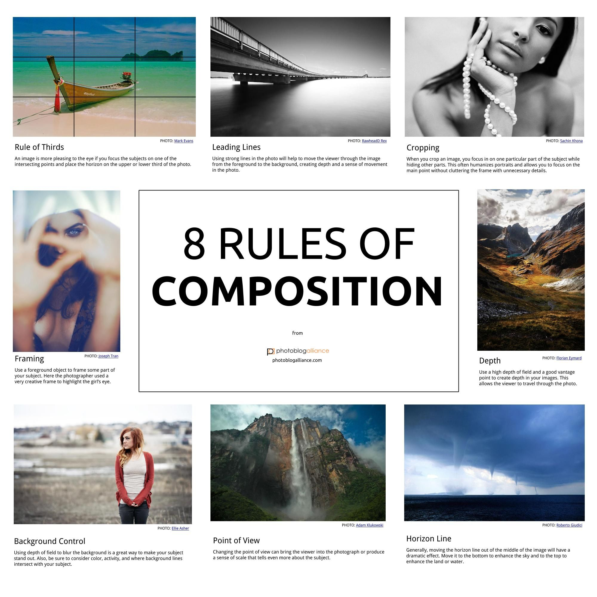 Want To Become A Great Photographer Learn These 8 Rules