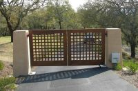 Wood gates For Driveways | Wood Gates | Access Control ...