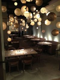 Public, Chicago. Amazing restaurant light fixtures ...