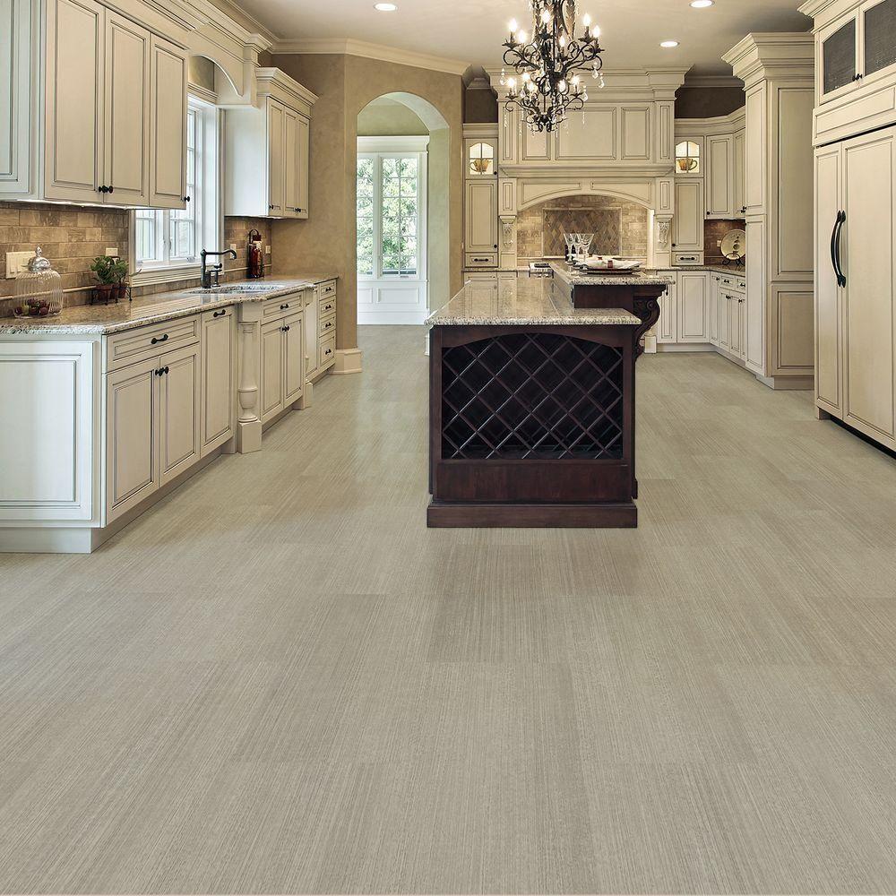 Take Home Sample  Allure Cream Concrete Resilient Vinyl