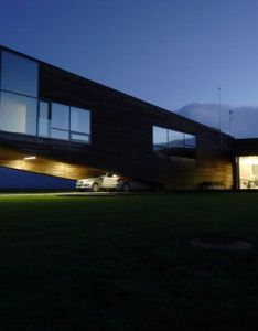 Modern home utriai residence  unique designing in lithuania designed by gtkevicius  partners lighting details the night also simple yet intriguing architectural rh pinterest