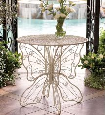 Metal Butterfly Table Wind & Weather