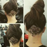 shaded rose undercut pretty hair