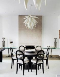 Room best dining designs for your contemporary home also  peaceful rh pinterest