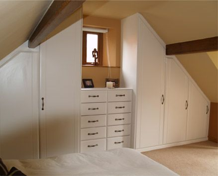 Closets with slanted ceilings on Pinterest  Slanted