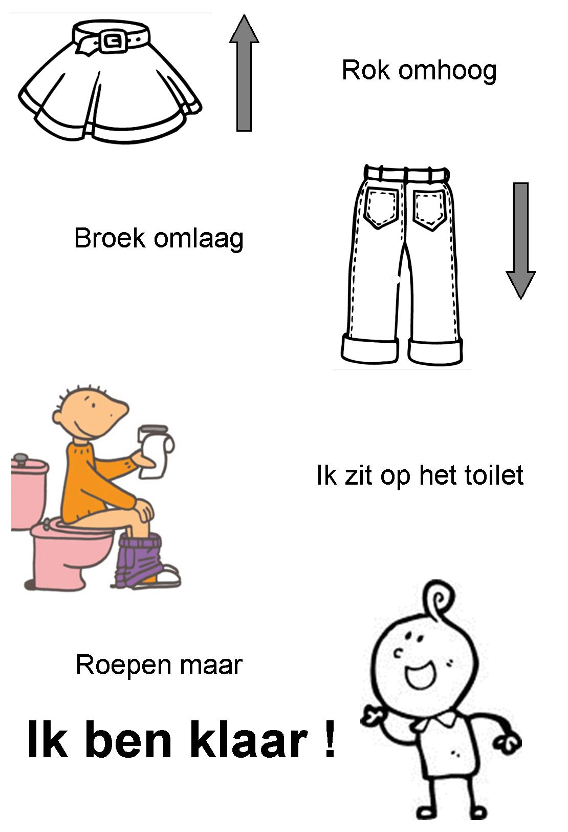 Versje Ik Ben Klaar Toiletbezoek