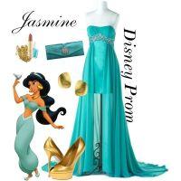 """Disney Prom: Princess Jasmine"" by turquoiseivy on ..."