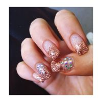 Gold Nails For Prom | www.pixshark.com - Images Galleries ...