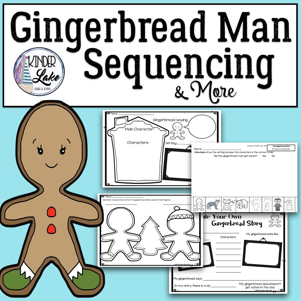 Gingerbread Man Sequencing Amp More