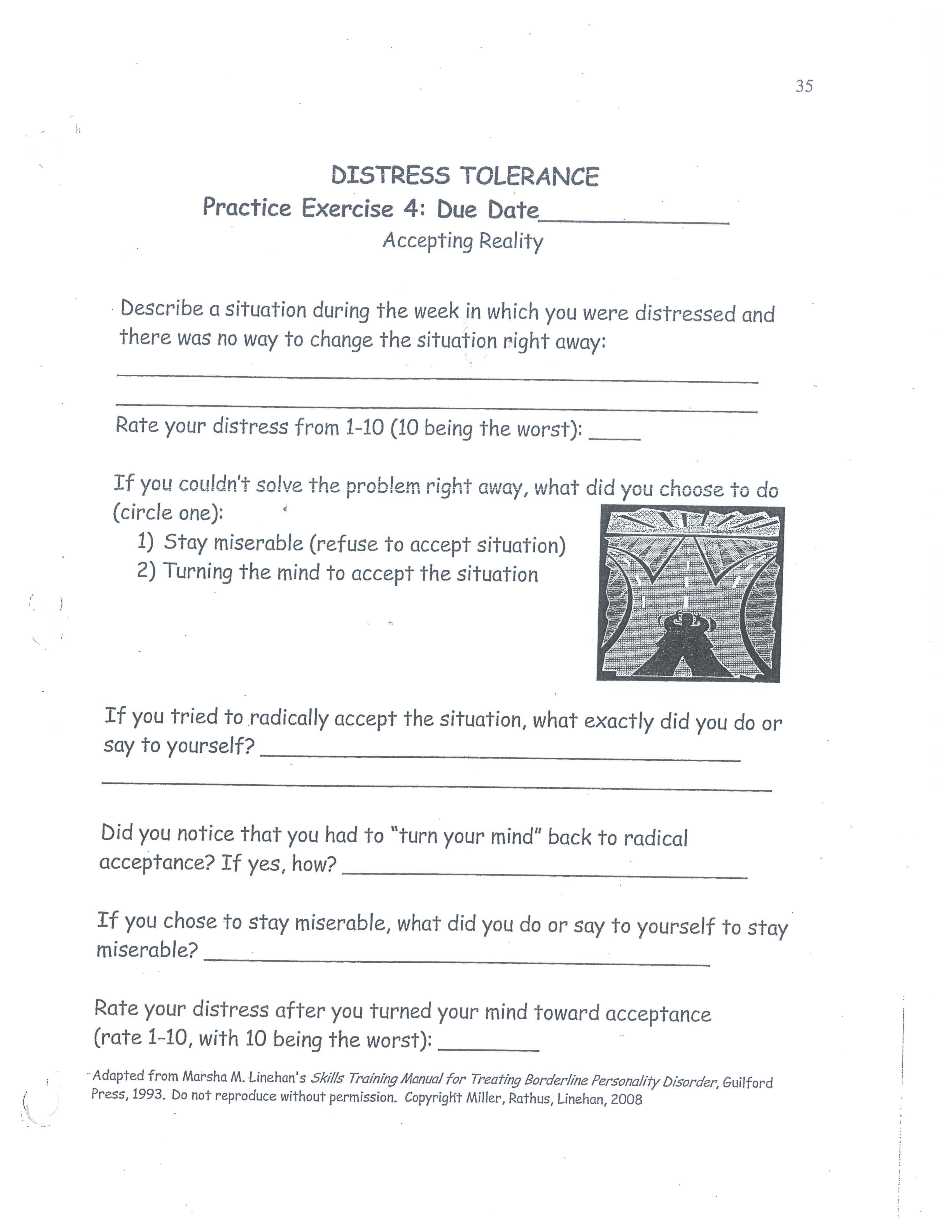 Dbt Distress Tolerance