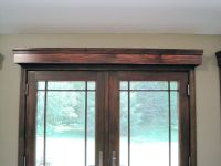 Window Treatment Ideas For French Doors | Cornice boards ...