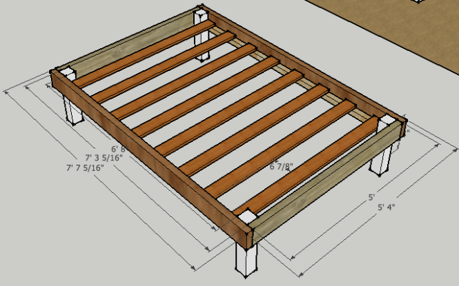 Explore Diy Queen Bed Frame Full And More