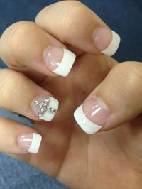 nail-designs-with-rhinestones-and-crosses-cross-acrylic ...