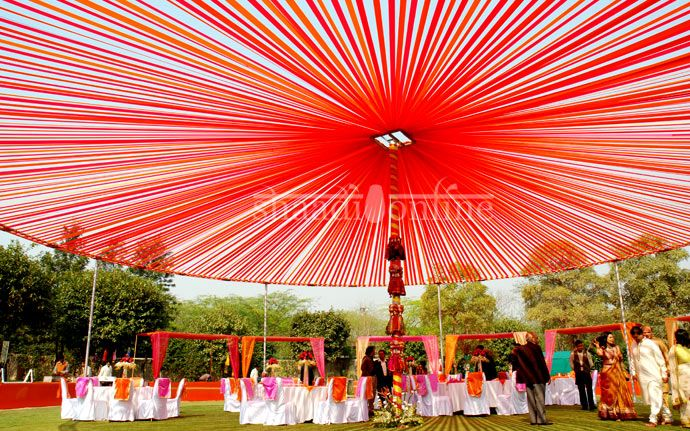 Wedding Décor Delhi Wedding Decor Red Weddings Pinterest