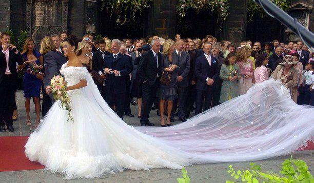 Hochzeitskleid Verona Pooth Alle Guten Ideen über Die Ehe