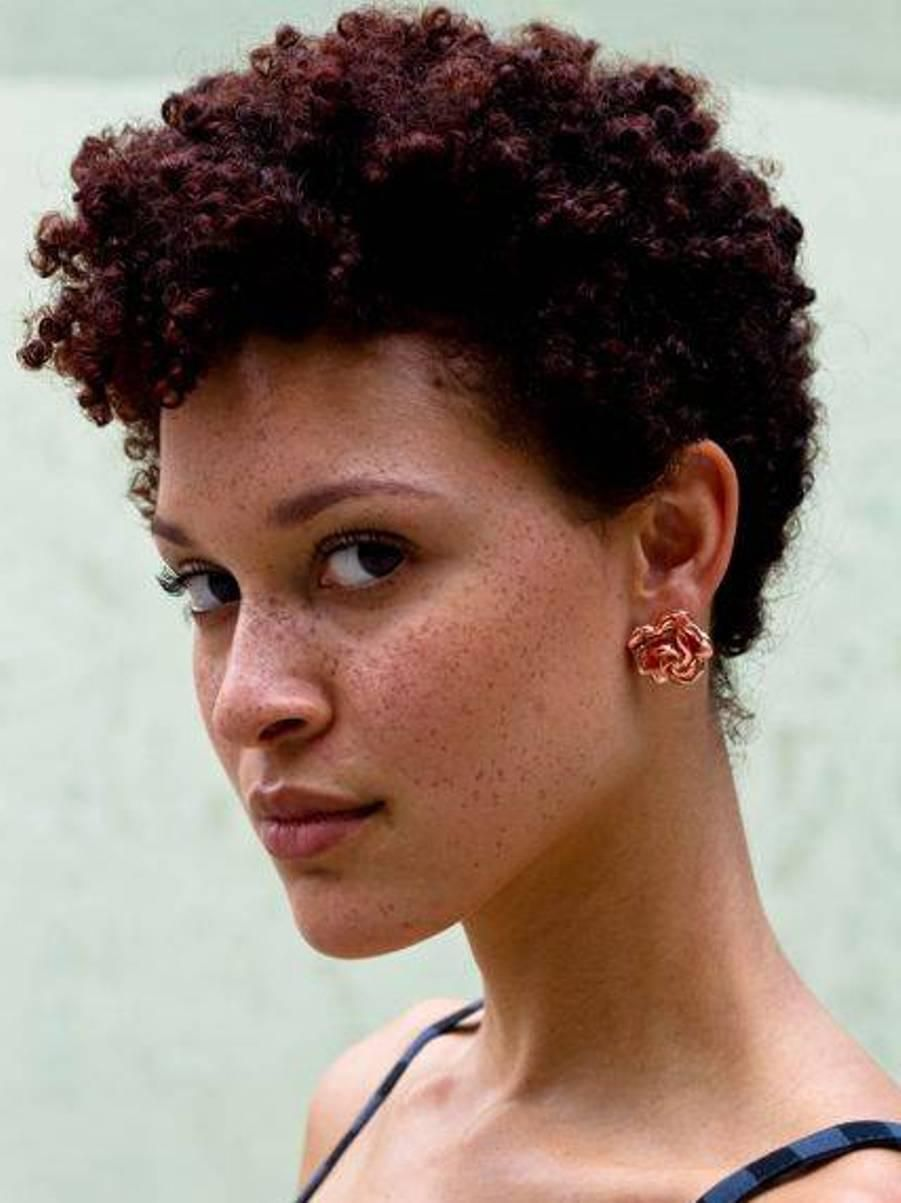 Curly Afro Hairstyles For Womens Shorts Short Afro And Caribbean