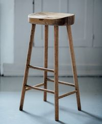 simple wooden stool | wishlist | Pinterest | Oak bar ...