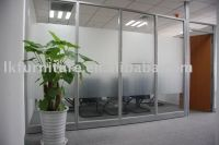 Great Design Of Office Glass Partition Wall In Aluminium ...