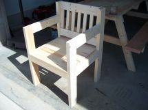 Chair With Scrap Wood Craft Ideas