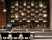 10 Inspiring Restaurant Bars With Modern Flair | Shelves ...