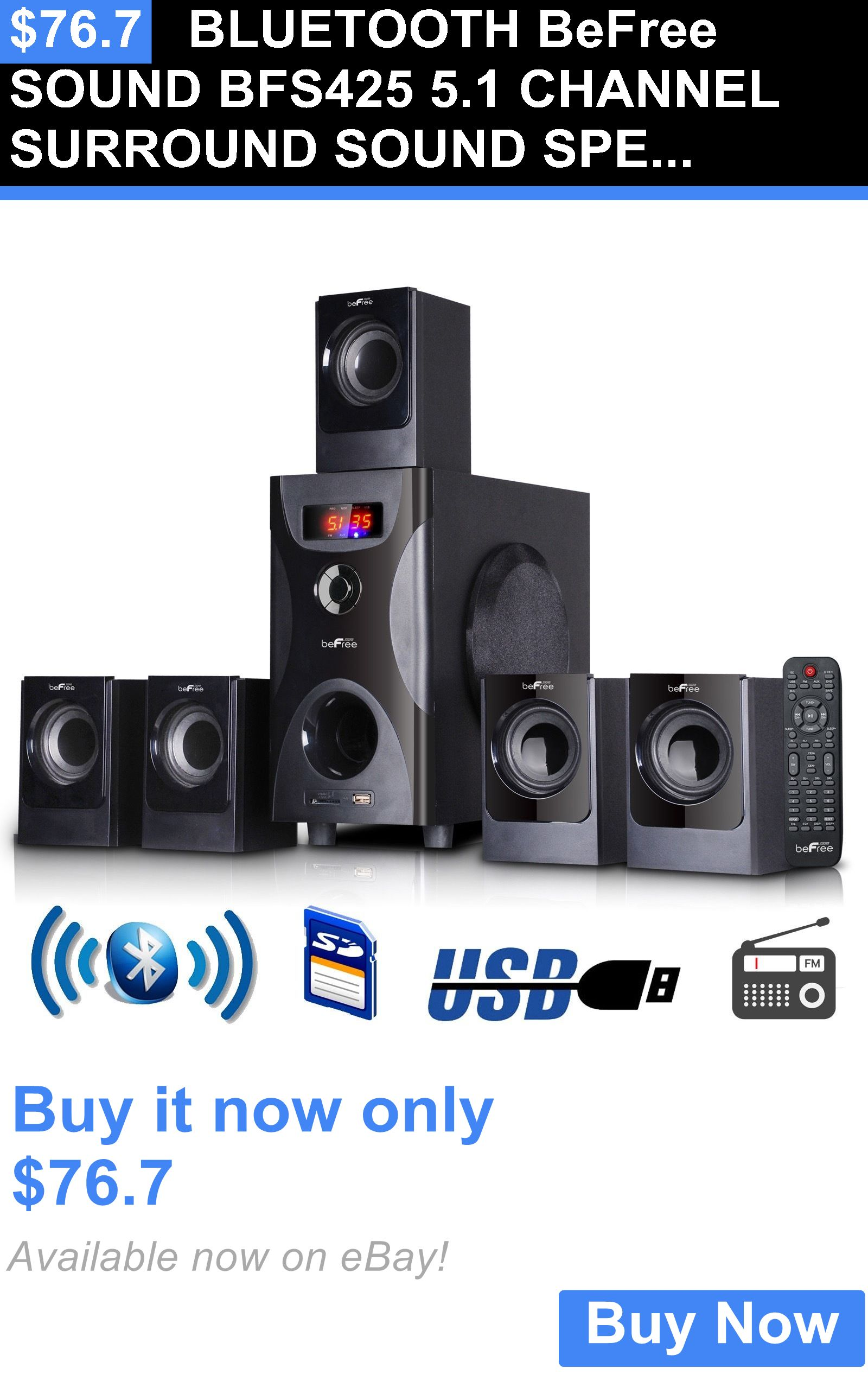 Home speakers and subwoofers frisby watt bluetooth wireless surround sound tower theater   buy it now only on ebay also rh pinterest