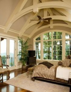 Beautiful master bedroom interior design ideas and home decor like the beamed ceiling arched also rh pinterest