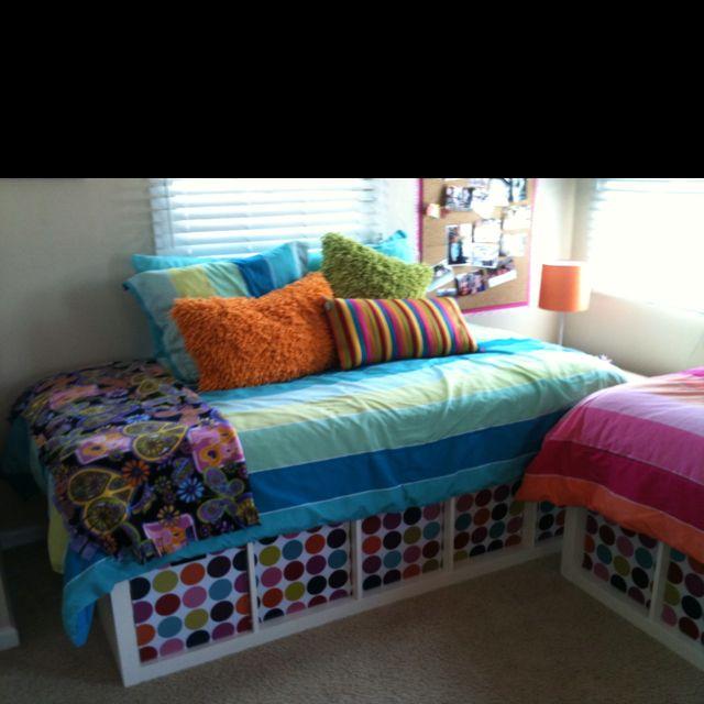 Storage Ideas Small Bedrooms Kids