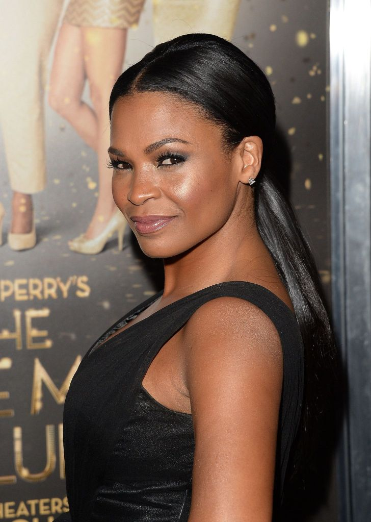 Long Hairstyle: Nia Long Hairstyles. Backgrounds Nia Long Hairstyles For Hairstyles Mobile Hd Ponytail Extension And Pretty Hair