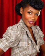 pin hair vintage