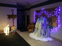 Island of Misfit Toys Castle - Work Holiday Decorating ...