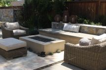 Smooth Stucco Fire Pit Dig Pits