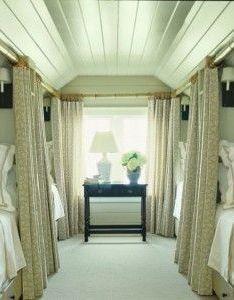 So cute to bed  whole guest family dreamy home ideas pinterest train car bonus rooms and attic also rh