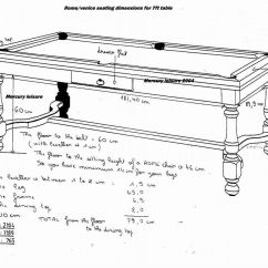 Table Shuffleboard Dimensions Diagram Gm3vlb Mini Delta Homemade Pool Plans Follow These Step By