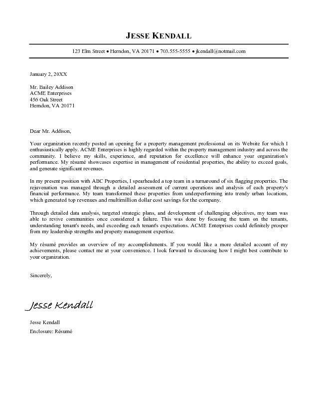 Letter Example Nursing Careerperfectcom Cover Letter For Job
