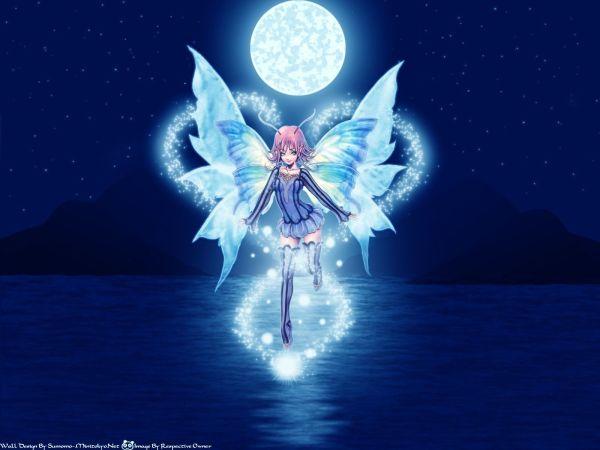 Anime Butterfly Fairy