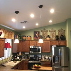 Pot Lights For Kitchen Tools Az Recessed Lighting Installation Of Leds In