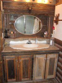 Custom barnboard vanity & mirror   ArtAttack2 - furniture ...