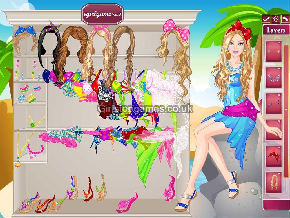 Barbie Fashion Dress Games Online