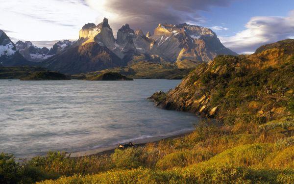 chile landscape latin america