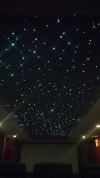 Fiber Optic Panel Star Ceiling | Fiber optic, Ceilings and ...